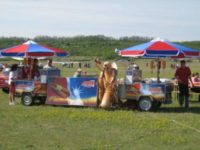 Vontatható hot-dog kocsik kölcsönzése
