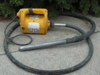 Tűvibrátor kölcsönzés,elktromos és akkumulátoros