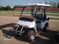 Jeep jellegű elektromos golfautó bérelhető rövid, - és hosszú távra